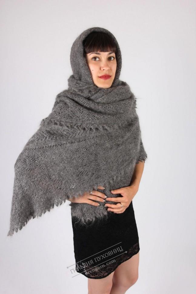 теплые пуховые платки купить